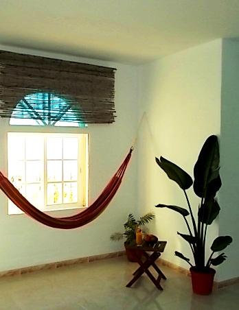 chambre tropicale hamac finca johanna. Black Bedroom Furniture Sets. Home Design Ideas