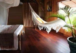 chambre tropicale hamac