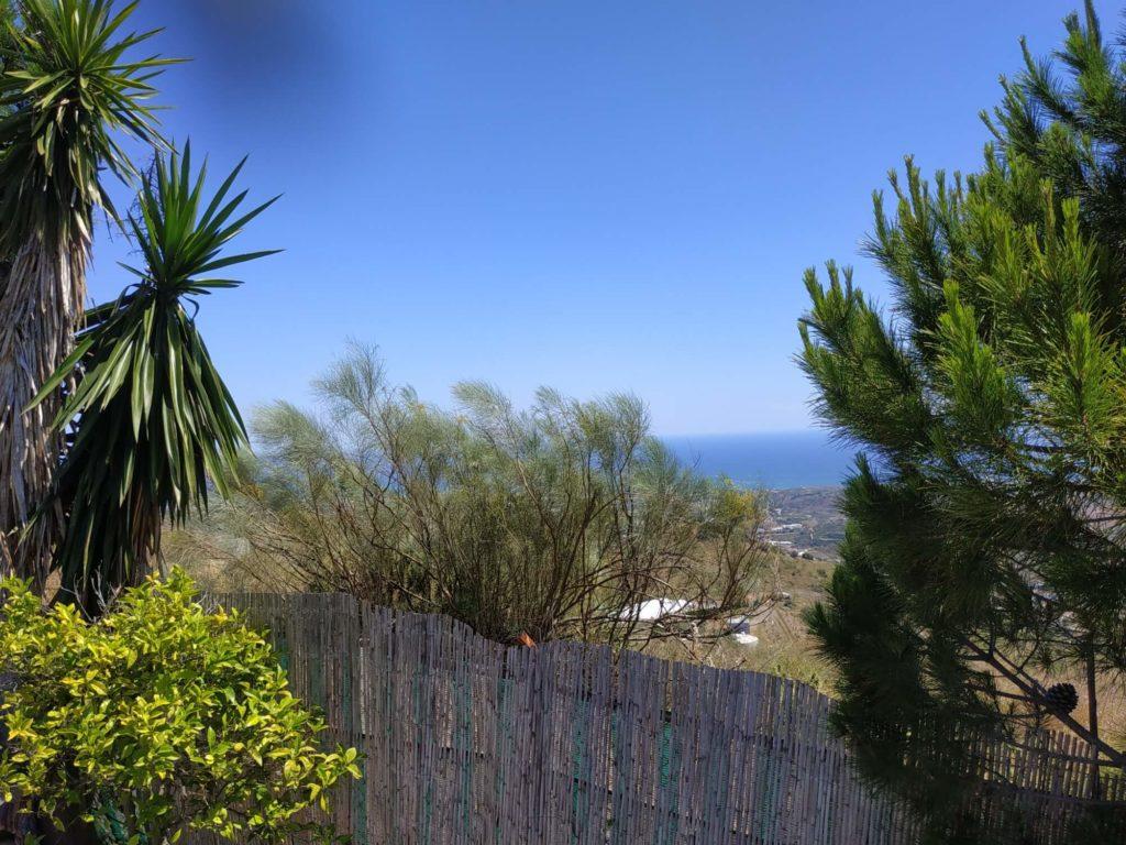 Vue de la terrasse de la Casita